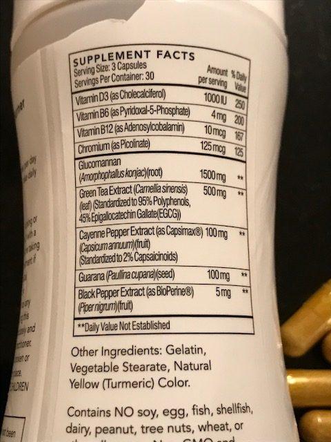 hourglass fat burner ingredients